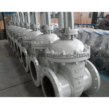 GB A216 Wcb Rising Stem Wedge Flange Gate Valve