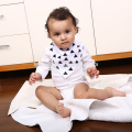 anti-Bacterial cotton baby bib for baby girls easy washable Promotional bib baby bandana drool bibs