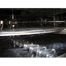 Secador continuo de la placa de la serie PLG 2017, banda transportadora continua de los SS, diseño vertical del filtro del tambor rotatorio