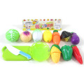 Kitchen Play Set of Cutting Food & Vegetable Toys for Kids
