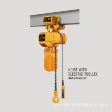 electric chain hoist for overhead crane