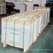 1070 hoja de aluminio para aire acondicionado Condensadores y evaporadores