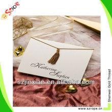 borlas de invitación / borlas de invitación de boda / borla decorativa