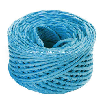 lihgt blue twisted paper cord