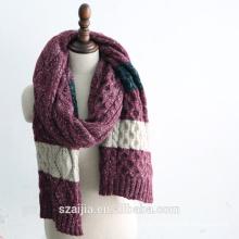 Bufanda larga hecha punto mens del invierno de la manera