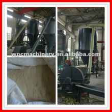 Wood powder pulverizer machine