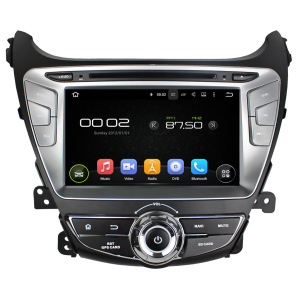 Android car dvd player for Hyundai Elantra 2014