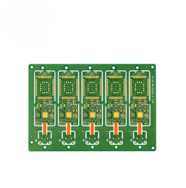 5 array FR4 green soldermask pcb