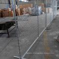 Canada clôturant la clôture temporaire