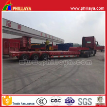 Heavy Duty 3-Line-6-Axle 100t Lowbed Semi Trailer