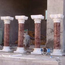 luxury decoration stone carving marble wedding columns wholesale