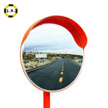 Lente acrílica plástica redonda do espelho convexo exterior de 80cm para o canto da estrada