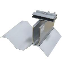 Conception courte de rail sur le support solaire de picovolte de toit en métal