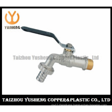 Nickel-Plating Brass Water Pipe Switcht with Iron Handle (YS4004)