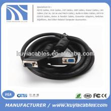 VGA macho a hembra, para el cable de extensión del monitor