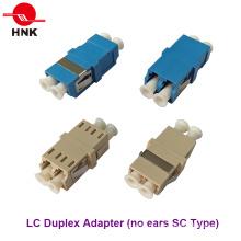 LC Duplex Keine Ohren Sc Typ Faseroptik Adapter