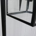 Antique Design Black Wrought Iron Standing Floor Lamp