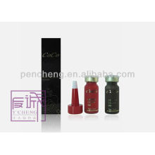 Tatuaje de tinta de pigmento rojo satinado .12ml / botella de líquido
