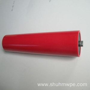 Red UHMWPE roll shaft