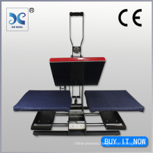 Dual Shuttle Auto-Opening Clamshell Heat Press Machine
