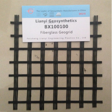 Fiber Glass Biaxial Geogrid