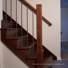 Modern Design Round Solid Wood Handrail Price