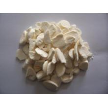 Flocos de alho liofilizados