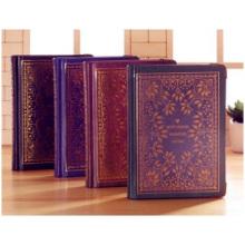 Wholesal Cuaderno clásico caliente del hardcover, cuaderno de la alta calidad