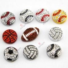 La última joyería del diseño 8m m Sportsball para los accesorios de DIY