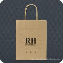 Luxury Kraft Paper Shopping Bag with Logo