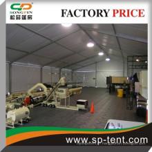 Grande tente d'entrepôt étanche 25x25m