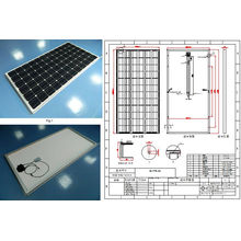 36V 305W 310W 315W 320W Monocrystalline Solar Panel PV Module with TUV Approved