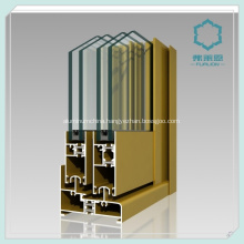 Extruded Aluminium Window Channel 6063