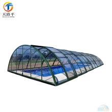 Moldura de alumínio de alta qualidade Portão de vidro portátil