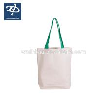 bolsa de lona plegable de compras impresa