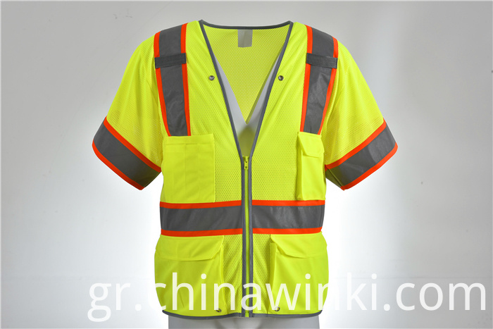 road workers safety vest