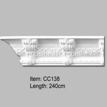Modillion Polyurethane Contemporary Cornice