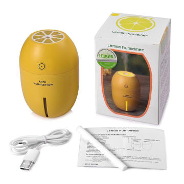 Mini Lemon Night Light 120ml Humidificador ultrasónico USB