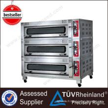 CE approuvé en acier inoxydable K170 fours électriques autoportants petit pain