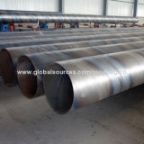 Large Diameter Spiral Submerged Arc Welded Carbon Steel Pipes, 219mm Diameter, 8.18mm WTNew