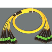 MPO-MPO Singlemode 76cores Trunk Fiber Optical Patch Cord