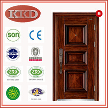 Luxury Dull Polish Steel Door KKD-110 for Cottage Security