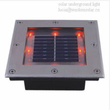 zugelassenen CE ROHS Solarstrom unterirdischen Gartenleuchten (JR-3213)