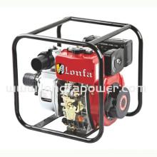 Pompe à eau diesel à démarrage manuel 13 po 4 po