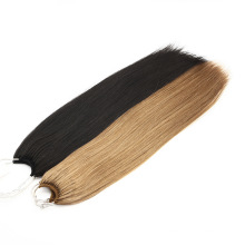 Top Quality Unprocessed Brazilian Virgin Hair Straight Natural Cuticle Aligned Human No Tip Hair Extension Remy Hair