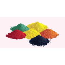 Eisenoxid (CAS-Nr .: 1309-37-1) Rot, Gelb, Blau, Schwarz, Braun. Orange