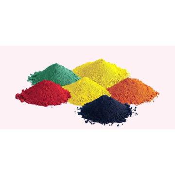 Oxyde de fer (No CAS: 1309-37-1) Rouge, jaune, bleu, noir, marron. Orange