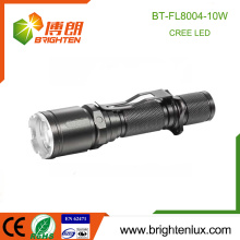 Factory Supply 18650 Long Range High Power Chasse Aluminium Gun Tactical 10w Cree Best Rechargeable led Flashlight avec clip
