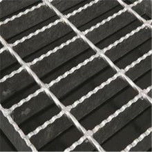 Anti Slip Bergerigi Steel Bar Grating