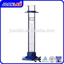 Cilindro de medição de vidro JOAN Lab com fabricação de base plástica